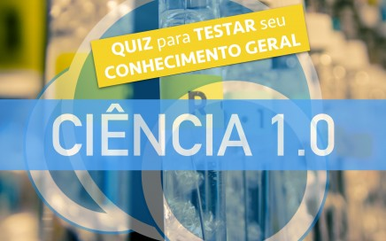 um quiz para testar seu conhecimento geral em ciência