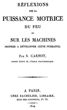 livreto de Carnot e o nascimento da Termodinâmica