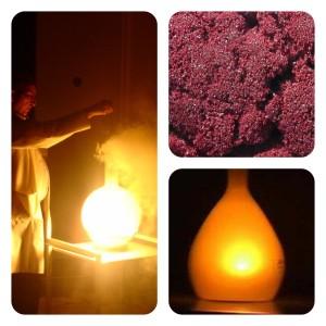 Brilhante! Veja a reação de fósforo vermelho com oxigênio puro!