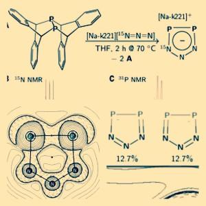 INÉDITO: primeiro composto cíclico aromático inorgânico, de P e N