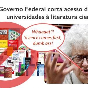 Duro golpe contra a Ciência no Brasil